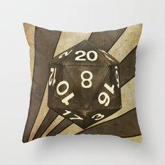 D20 Throw Pillow