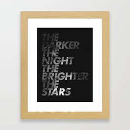The Dark  Framed Art Print