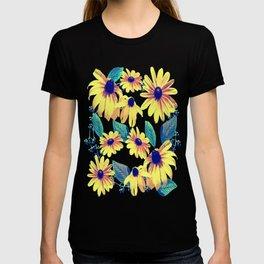 Black-Eyed Susan Pattern 2 T-shirt