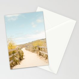Travel photography Spring pathway I Stationery Cards