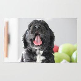 Puppy Yawn Rug