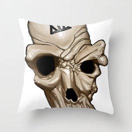 Skull XIII Throw Pillow