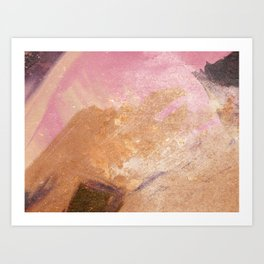 Planetary Pink Art Print