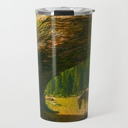 Where Only the Seasons Mark the Paths of Time Travel Mug