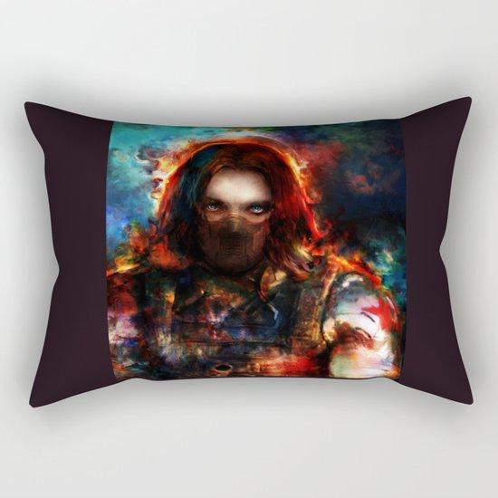 winter one Rectangular Pillow