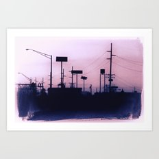 Minutia Island Art Print