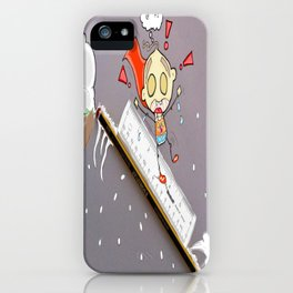 """"""" The Art Of Sledging """" iPhone Case"""