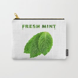 The Perfume of Fresh Mint Carry-All Pouch