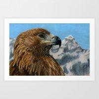 The Golden Eagle Art Print