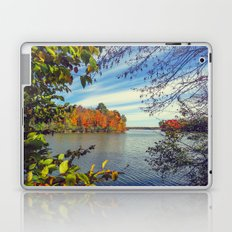 Autumn Peek-a-Boo Laptop & iPad Skin
