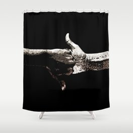 Power Grip Shower Curtain