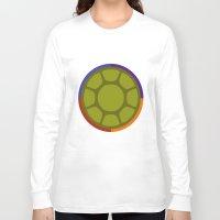 ninja turtle Long Sleeve T-shirts featuring Ninja Turtle by R. Cuddi