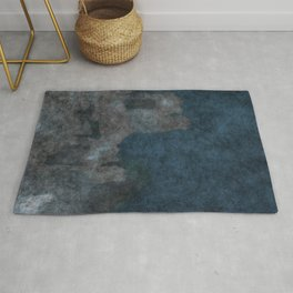 stained fantasy civilization Rug