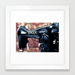 singer 1 Framed Art Print