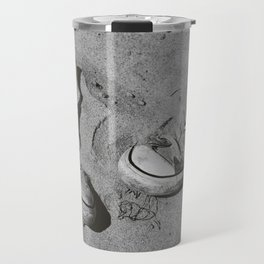 Sand in Your Shoes - Monochrome Travel Mug