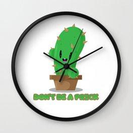 Pricky cactus Wall Clock