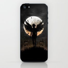 Lost in the world of humanity iPhone Skin