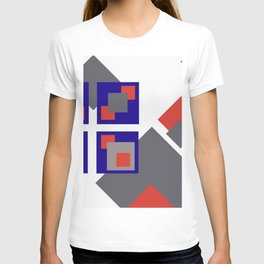 Grafik Rectangles III T-shirt