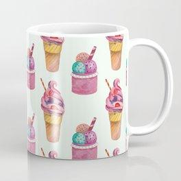 Vintage retro icecream pattern Coffee Mug