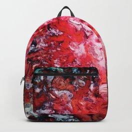 Red navigation light Backpack