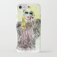 2ne1 iPhone & iPod Cases featuring 2NE1 - CL (BAZAAR) by Margot Park