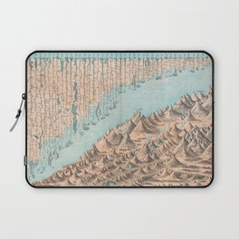 Chart of the World's Mountains and Rivers - Geographicus Laptop Sleeve