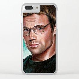 ACEO Daniel Jackson Stargate SG-1 sg1 Michael Shanks Clear iPhone Case