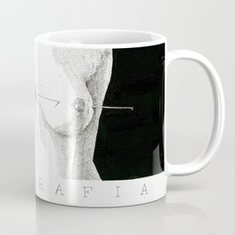 Needle and boobs Coffee Mug