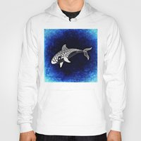 killer whale Hoodies featuring Killer Whale Illustration by Limitless Design