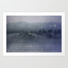 Out of the Mist Art Print