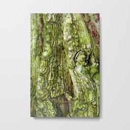 Green Veins  Metal Print