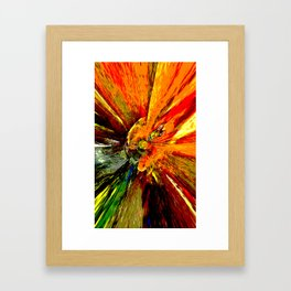 Space And Energy Expression Framed Art Print