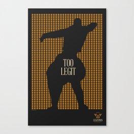 Brewery Legitimus: Too Legit Canvas Print