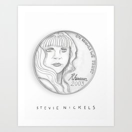 Stevie Nickels Art Print