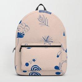 Summer Islands Pattern Backpack