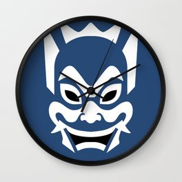 Blue Spirit Wall Clock