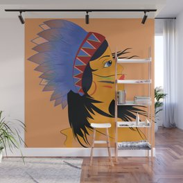 Away with the wind Wall Mural