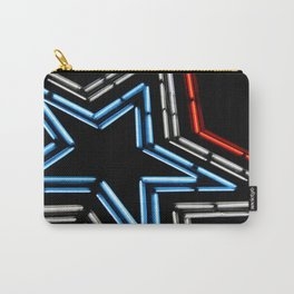 Neon Star Carry-All Pouch