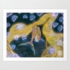 Glowing Maiden Art Print