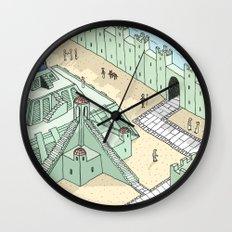 Phone Worship Wall Clock