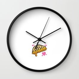 You Make Me Melt Play on Words T-Shirt Wall Clock