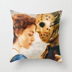 Jason Vorhees as Jack Dawson Throw Pillow