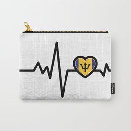 Barbados Heart Monitor Carry-All Pouch