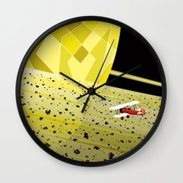 Lost In Time and Space Wall Clock
