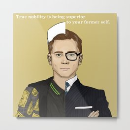 True Nobility - Kingsman Metal Print