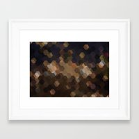 sand Framed Art Prints featuring SAND by ED design for fun
