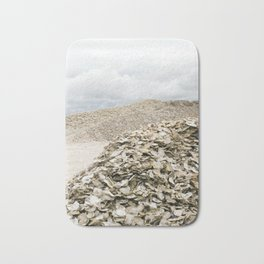 Oyster Shell Mounds, Seafood Fishing Industry, Washington, Northwest Bath Mat