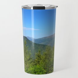 Mountain and trees Travel Mug