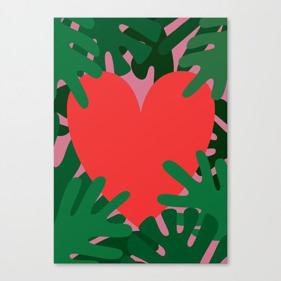 Wild Does My Love Grow Canvas Print