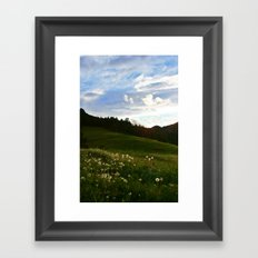 Morning Walk | Colorado Framed Art Print